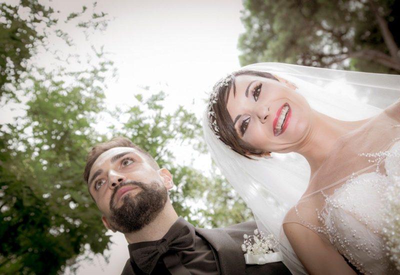 Glenda e Giuliano sposi
