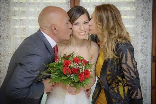 Lucia e i genitori