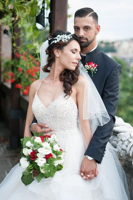 Martina e Giordano sposi