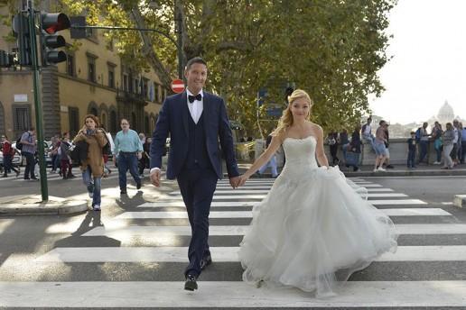 Francesca e Renato a Roma